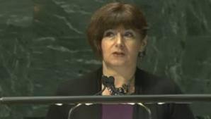 Simona Miculescu ambasadorul României la Națiunile Unite