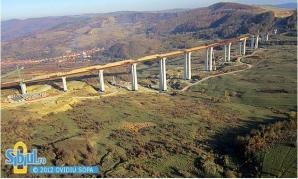 Cel mai mare VIADUCT din România va fi gata în aprilie 2013
