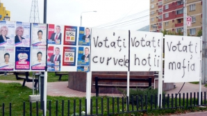 Panoul electoral care face SENZAŢIE PE INTERNET