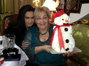 Oana Zăvoranu, Crăciun în familie