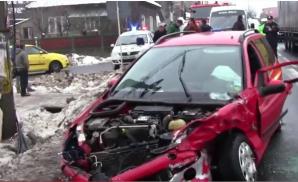 Accident grav la Hunedoara