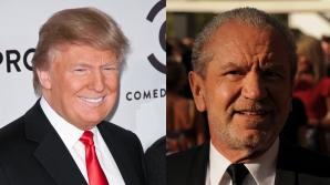 Donald Trump și Sir Alan Sugar s-au certat pe Twitter