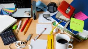 Dezordinea de pe birou te poate costa jobul