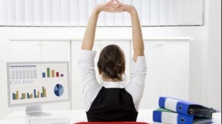 Rubrică Wellness. Sportul la birou. Exerciţii practice