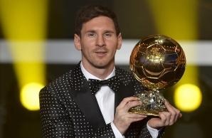 Lionel Messi, Balonul de Aur 2012
