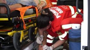 Accident cu cinci răniţi la intrare în Râmnicu Vâlcea