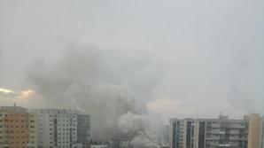 Incendiu la Cluj