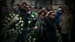 Lacrimi şi flori pentru Sergiu Nicolaescu