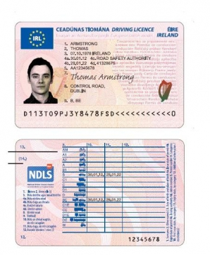 Noul permis european de conducere