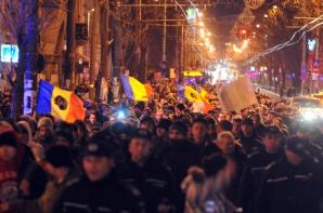 Un an de la izbucnirea protestelor din Piața Universității