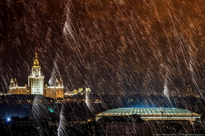 Moscova, în viziune artistică. Imagini surprinzătoare din capitala Rusiei