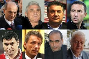 Cei opt inculpaţi din Dosarul Transferurilor
