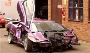 Cele mai scumpe accidente auto din istorie!