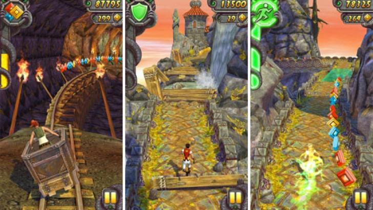 Temple Run 2 se bucură de un mare succes în rândul posesorilor de iPhone
