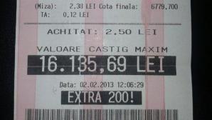 Biletul minune de la Bolintin Vale