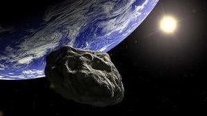Un asteroid trece pe lângă Pământ