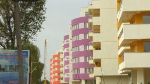 Blocurile vor fi vopsite în maxim două culori în Alba