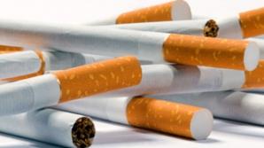 Ţigarete produse ilegal, ridicate de poliţişti / Foto: bistritanews.ro