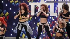 Românii au talent: Trupa de fete care a impresionat juriul. Foto: Pro Tv / Facebook