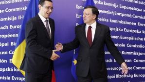 Victor Ponta şi Jose Manuel Barosso
