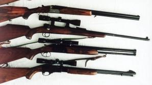 JAFUL SECOLULUI. Patru arme de vânătoare au fost găsite la hoţii de tablouri