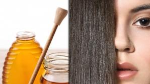 Cura de miere pentru părul despicat