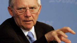 """Ministrul german de Finanţe: Ceilalţi europeni sunt """"GELOŞI"""" PE GERMANIA"""