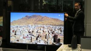 Sony a lansat primul şi cel mai mare televizor 4K din România