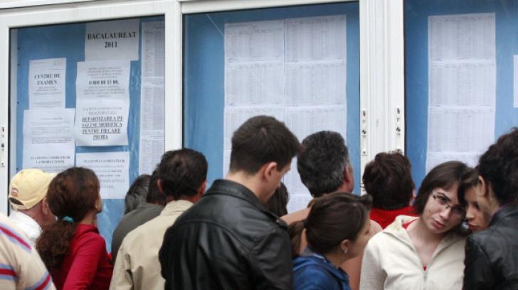 Sute de elevi au obţinut nota unu la simulare BAC 2013