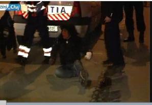 Tânăra a devastat un local din Cluj