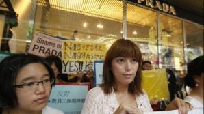 Protest împotriva standardelor de frmuseţe ale Prada