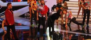 Românii au talent: Apariţie surpriză pe scenă, înainte de transmisiunea LIVE: Nicoleta Luciu. Foto: Cristi Dorombach / Realitatea.net