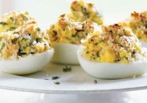 Ouă umplute în stil franţuzesc