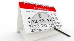 Calendarul zilelor libere în 2014