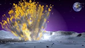 Explozie pe lună
