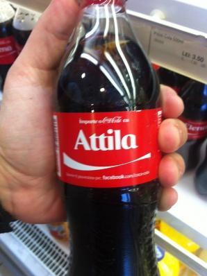 EXISTĂ Coca-Cola cu nume de maghiari în România