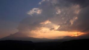Vulcanul Popocatepetl