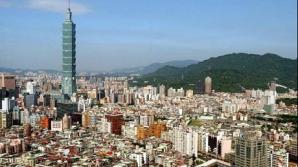 Imagine din capitala Taipei
