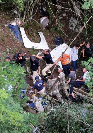 Accident groaznic în Muntenegru