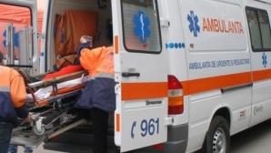 Accident grav în Cluj: patru persoane au fost rănite