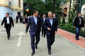 Ponta s-a întâlnit cu Blair
