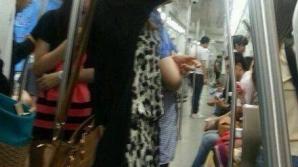 Cu pompa pentru desfundat chiuvete la metrou