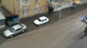 Furtună puternică la Tîrgu-Neamț