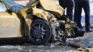 Accident cu cinci răniţi în Vâlcea