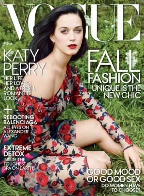 Katy Perry, în Vogue