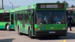 A doua zi de PROTESTE în Vâlcea: Transportul în comun este BLOCAT, şoferii cer mărirea salariilor