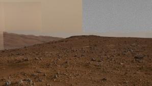 Panoramă spectaculoasă realizată de roverul Curiosity pe Marte