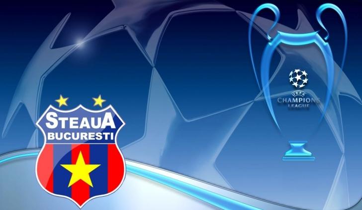 Steaua, anunţată pentru Champions League