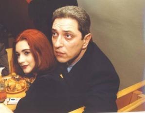 Andreea Berecleanu şi Andrei Zaharescu, la începuturile relaţiei lor