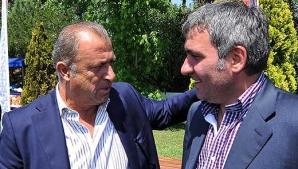 Fatih Terim, alături de Gică Hagi